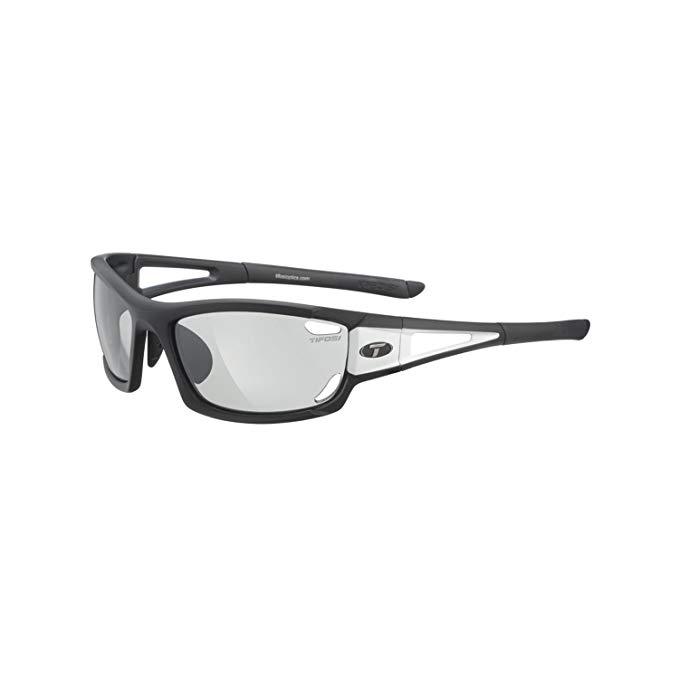 Tifosi Dolomite 2.0 Sunglasses, Black and White/Light Night