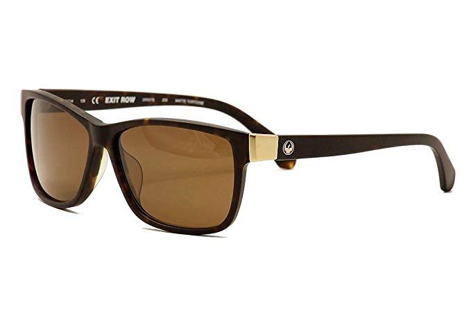 Dragon Alliance Matte Tort Bronze Exit Row Sunglasses