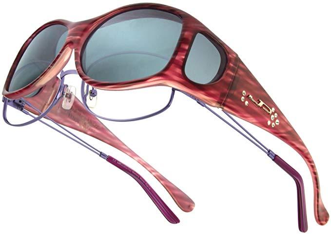 Fitovers Eyewear Glides Swarovski Crystals Sunglasses