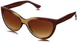 BCBGMaxazria Women's BCB873BLU5716 Square Sunglasses